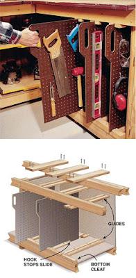 Organizador para ferramentas manuais