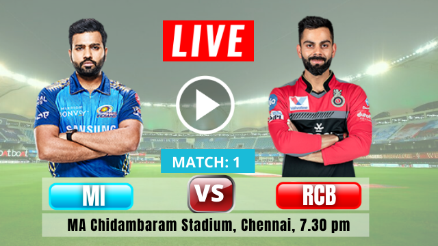 Mumbai vs Bangalore, 1st Match, RCB win the Toss and elected to field