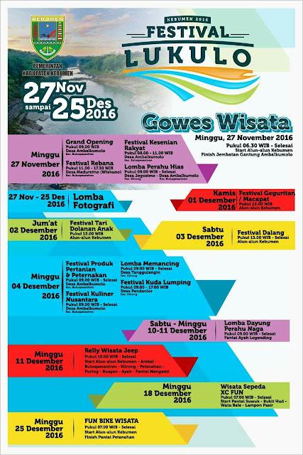 Festival Lukulo Berlangsung Sebulan