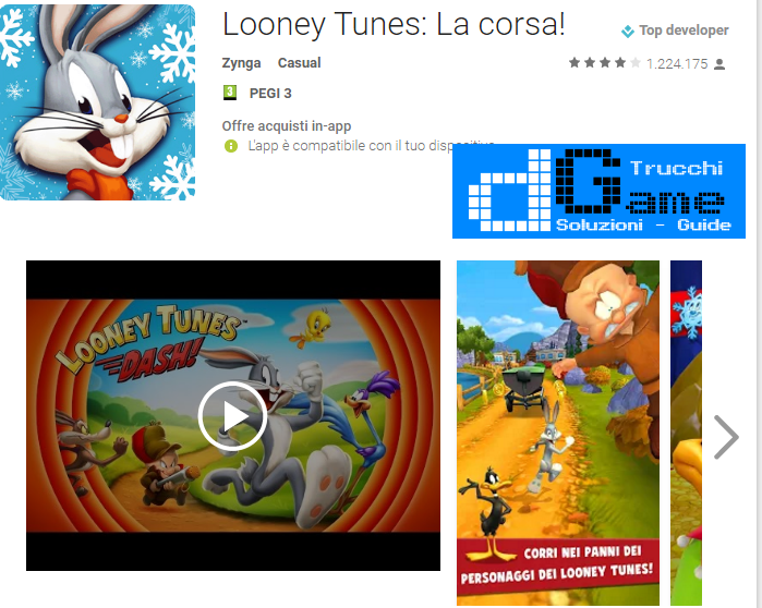 Soluzioni Looney Tunes Dash livello 376-377-378-379-380-381-382-383-384-385-386-387-388-389-390 | Trucchi e Walkthrough level