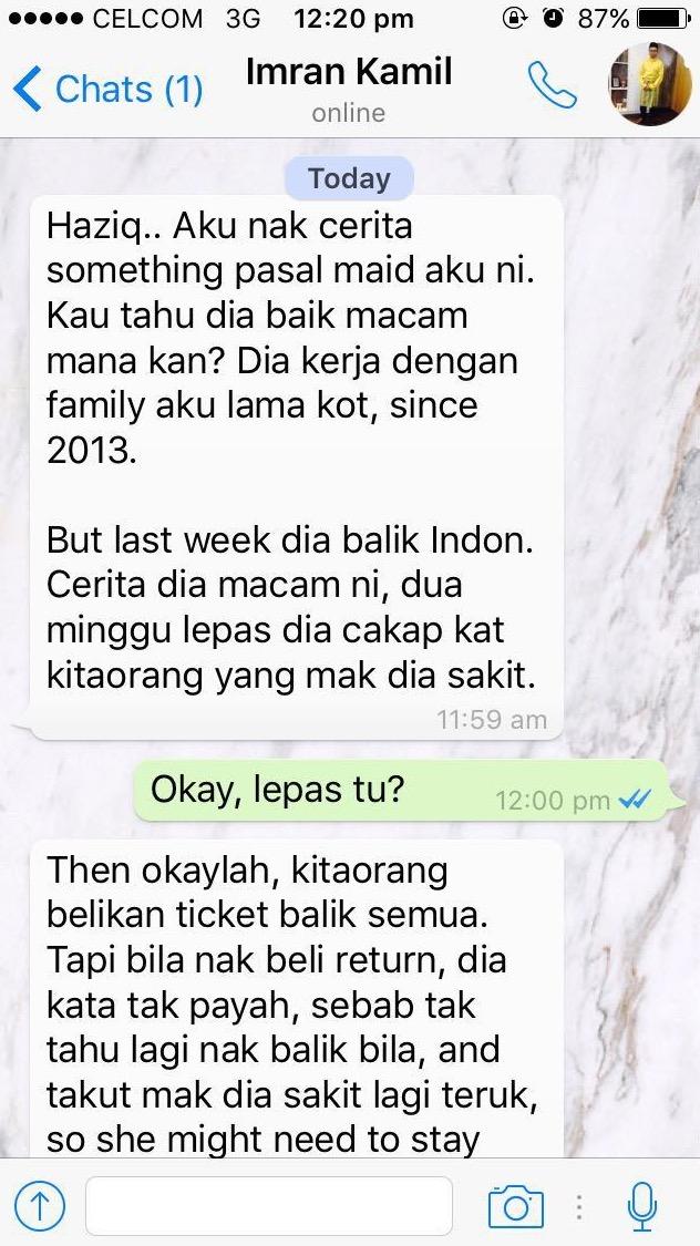Pembantu Rumah Buat Kek Nak Bawa Balik ke Indonesia. Bila Belah Kek Itu, Rupa-Rupanya..