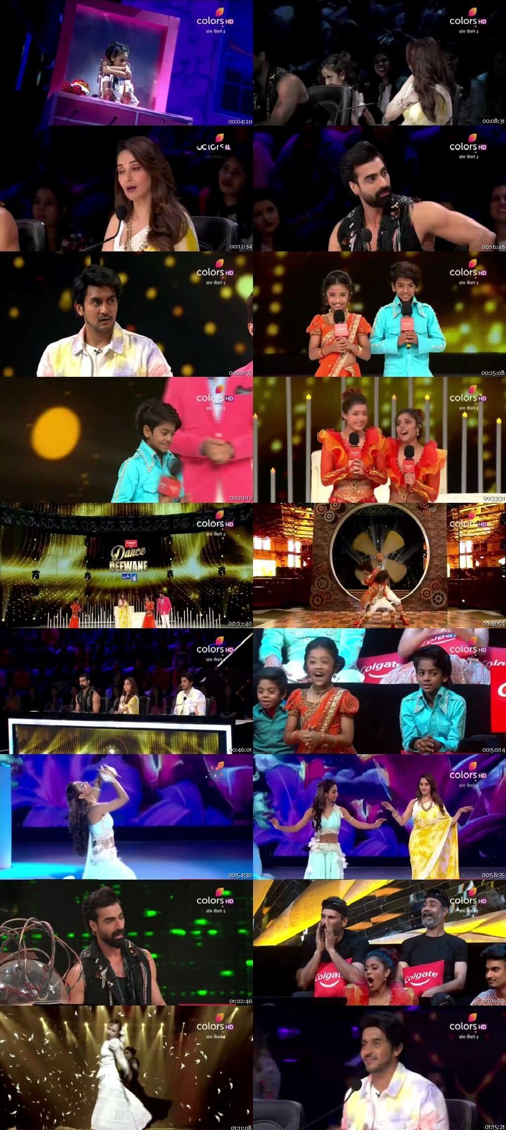 Screenshots Of Hindi Show Dance Deewane 2 6th July 2019 Episode 07 300MB 480P HD