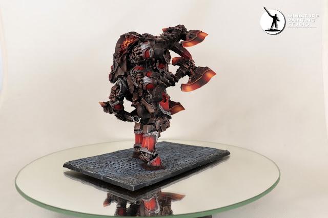 Kadim Titan 9th age infernal dwarfs