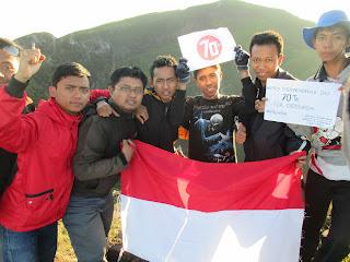 Terima kasih rakyat Indonesia