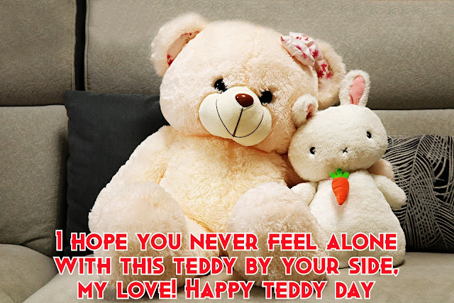 beautiful  Teddy bear day HD wallpaper