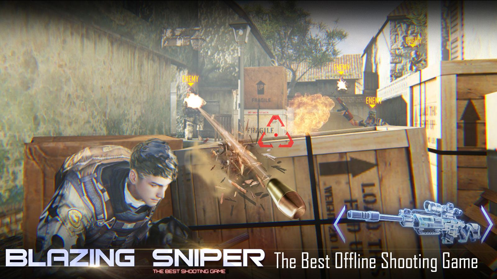 Blazing Sniper Elite Killer Shoot Hunter Strike MOD APK