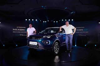 Tata Motors unveils India's own Electric SUV, the Nexon EV
