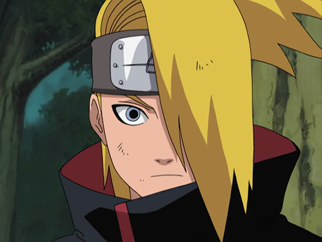 Naruto Karakter - Kumpulan Foto Deidara dan fakta tentang Deidara