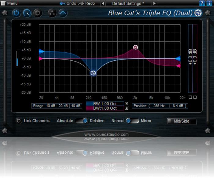 Equalizador Triplo Blue Cat's - Tripe EQ