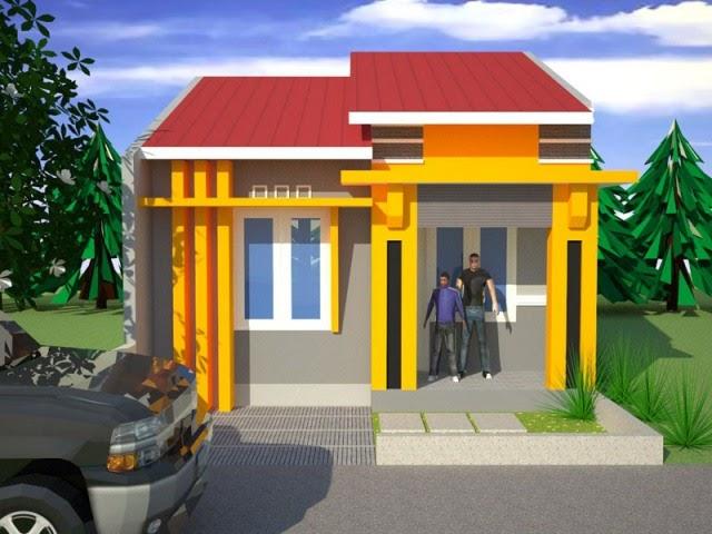 Gambar Perpaduan Warna Rumah Minimalis Desain Rumah