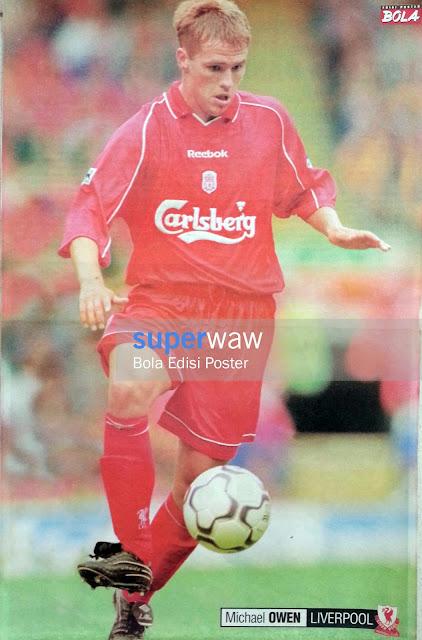 Poster Michael Owen (Liverpool)