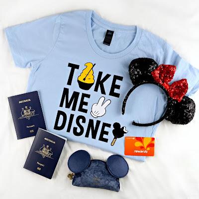 Custom Disneyland T-Shirt made with the Cricut Maker