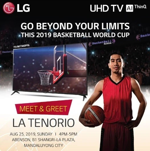 "Go Beyond Your Limits with the 70"" LG UHD TV"