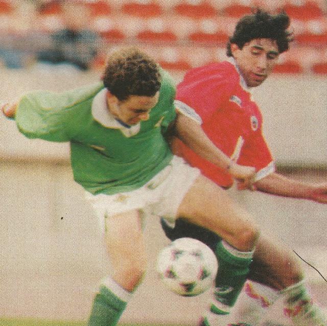 Chile e Irlanda del Norte en Canada Cup, 25 de mayo de 1995