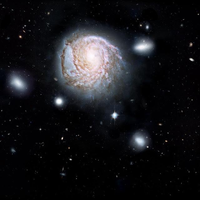 Galaxy murder mystery