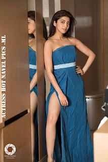Pranitha Subhash Hot Thighs