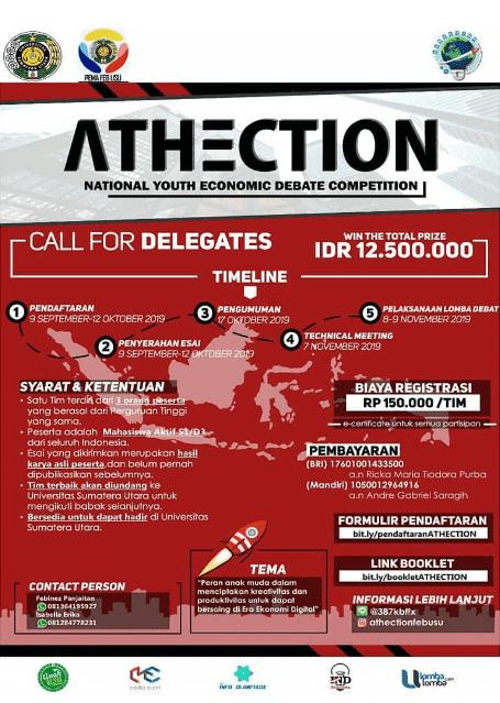Lomba Debat Ekonomi Tingkat Nasional Universitas Sumatera Utara
