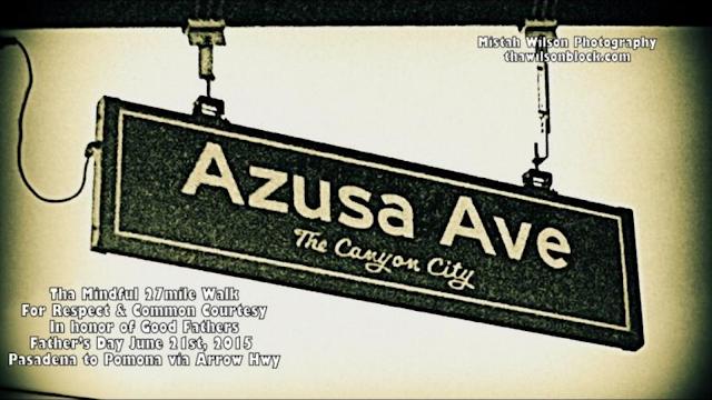 Azusa Avenue, Azusa, California by Mistah Wilson