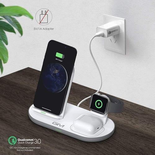 GIM 18W 3-in-1 Fast Wireless Charging Station