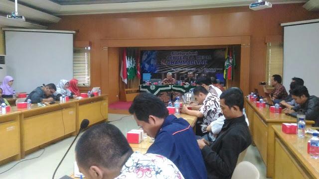 Silaturahmi Pengelola Media Muhammadiyah Bentuk Koordinator Media Muhammadiyah