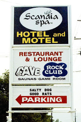 The Cave rock club at Scandia Spa Hotel in Sussex County, New Jersey