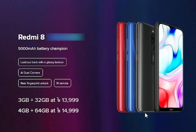 Xiaomi Redmi 8 Price In Bangladesh 2020 [Specification]