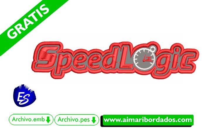 Logo Speed Para Bordar
