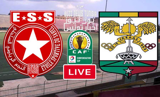 Match Etoile du Sahel vs ASC Jaraaf Live Stream
