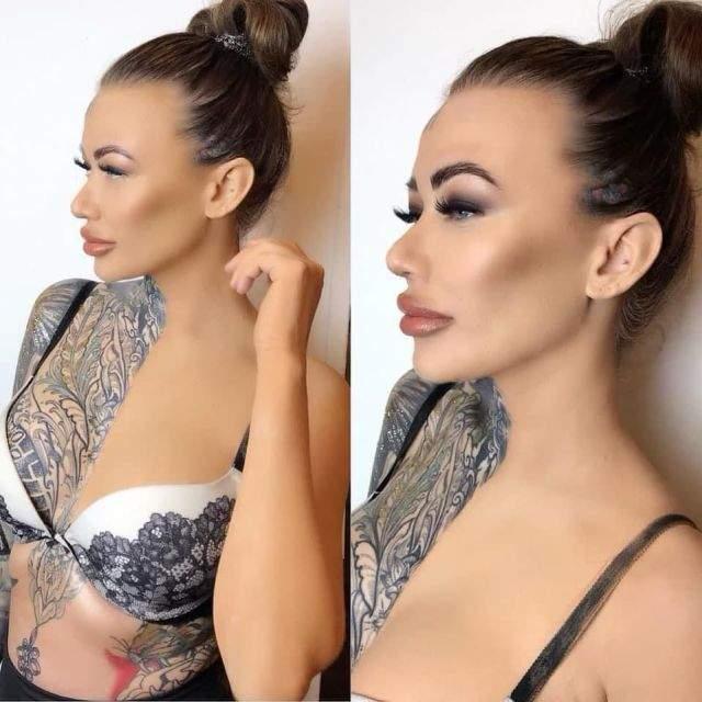 Britain's most tattooed woman