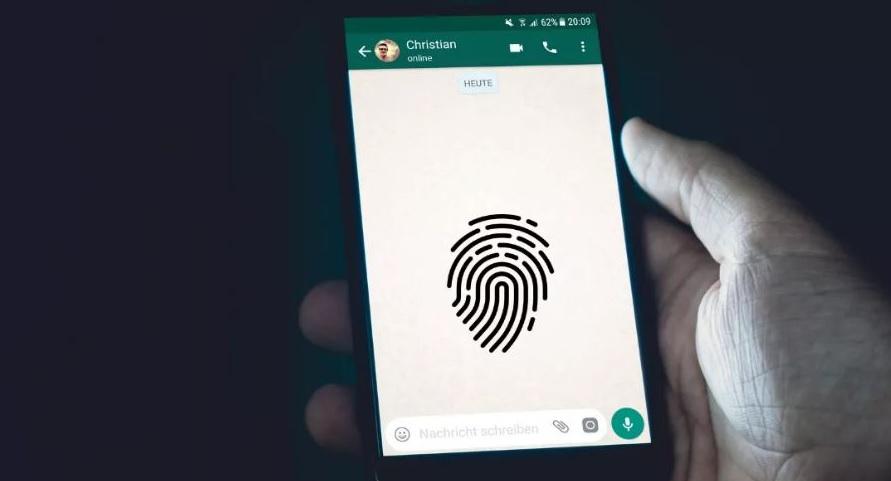 Keamanan Sidik Jari WhatsApp