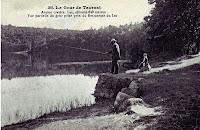 le Gour de Tazenat, les pêcheurs