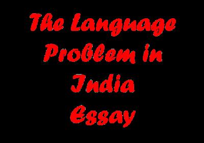 The Language Problem In India | Essay
