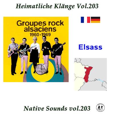 VA - Heimatliche Klaenge  - Elsass 1960 - 1969 ( VOL.203)