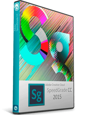 Adobe SpeedGrade CC 2015 box Imagen
