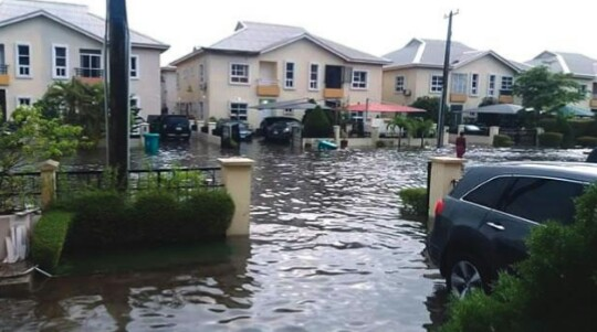 Residents Of Ibeju-Lekki, Lagos Lose Valuables Worth Millions To Flood (Photo)