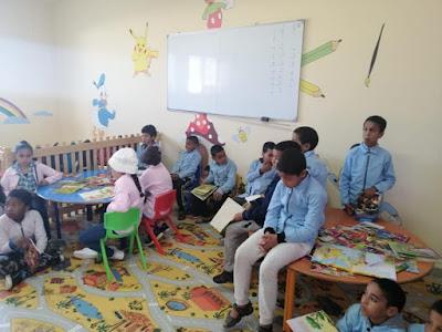 إنطلاق برنامج Quizzito maroc للقراءة التحفيزية بمجموعة مدارس فم الواد