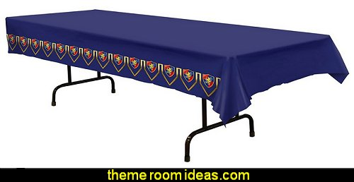Medieval Table Cover Medieval party decorations