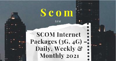Scom internet Packages