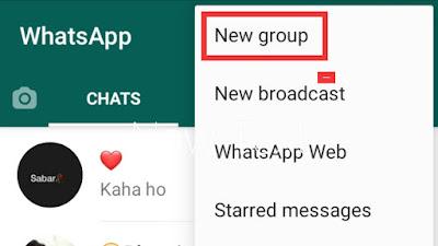 whatsapp group kaise banaye - how to create whatsapp group