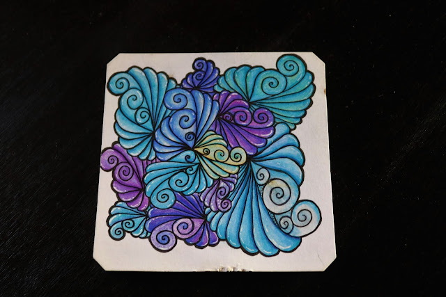 Spinner zentangle