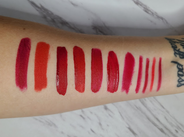 Favorite Red Lip Products