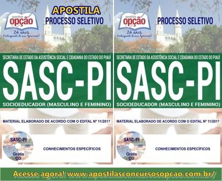 Apostila Socioeducador SASC 2017
