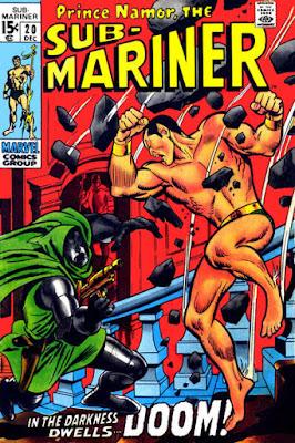 Sub-Mariner #20, Dr Doom