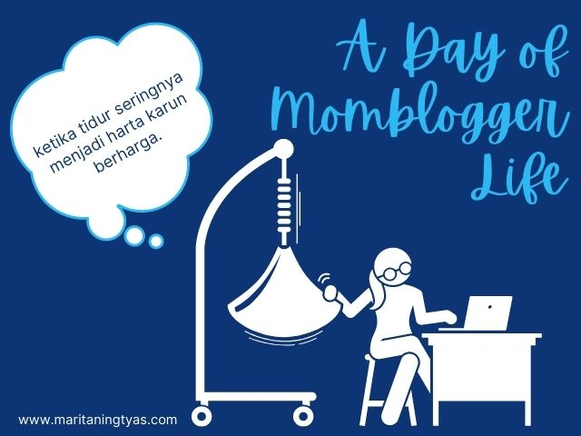 a day of momblogger life