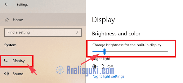Cara Meredupkan Layar Laptop Windows 10