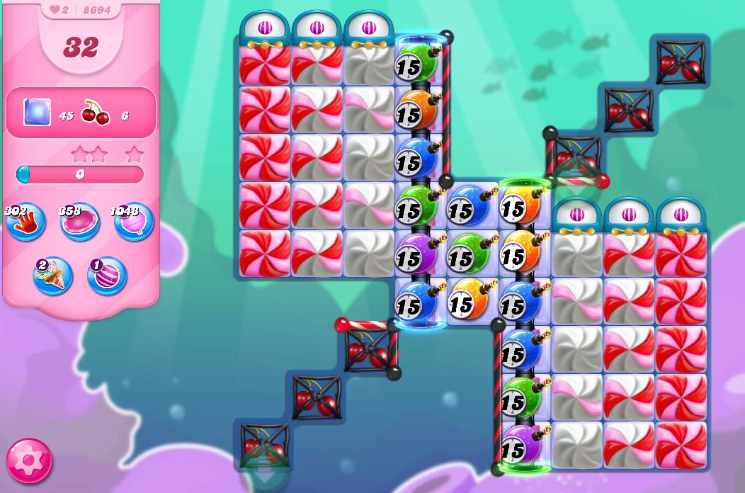 Candy Crush Saga level 8694