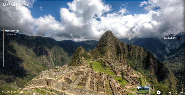 Let's be honest - how many of us are actually going to be able to visit Peru in a year or even in two. But that should not stop us from visiting Machu Picchu. And that too without putting in any effort for the hike and without battling mountain sickness. This delightful virtual tour not only presents some extraordinary 360 degree panoramas, but also a bearable commentary to go with it. This is definitely one of the most gorgeous UNESCO World Heritage Sites - Machu Picchu. So definitely pay a visit. Virtually at least for now.