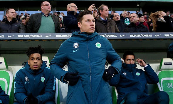 Arsenal set to agree £30million Julian Draxler deal