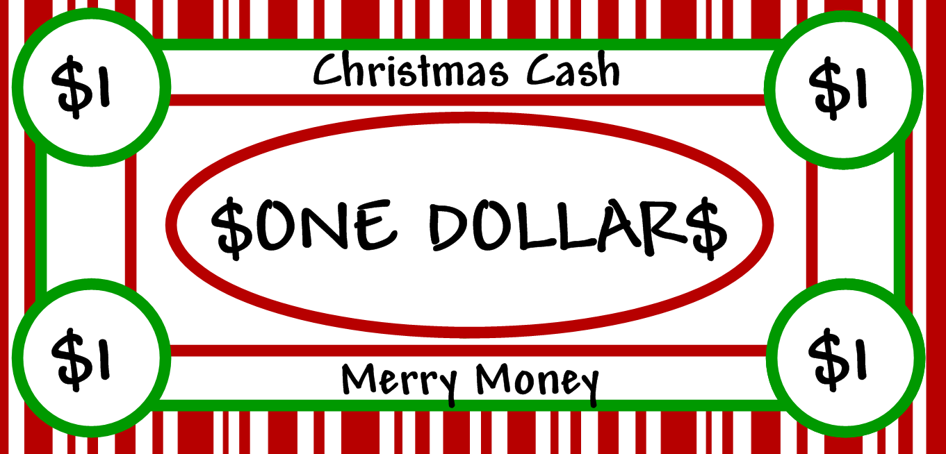Free Clipart N Images: Merry Christmas Money