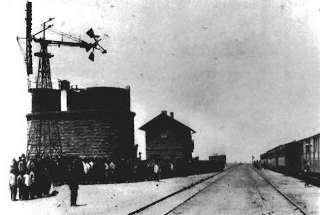 إفتتاح محطة تبوك, إحدى محطات سكة الحديد الحجازية 1908م